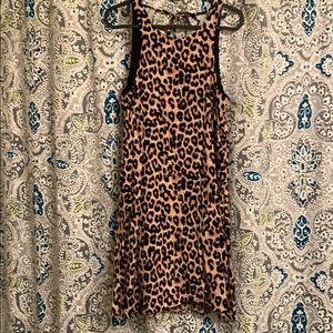 Cheetah Swing Dress